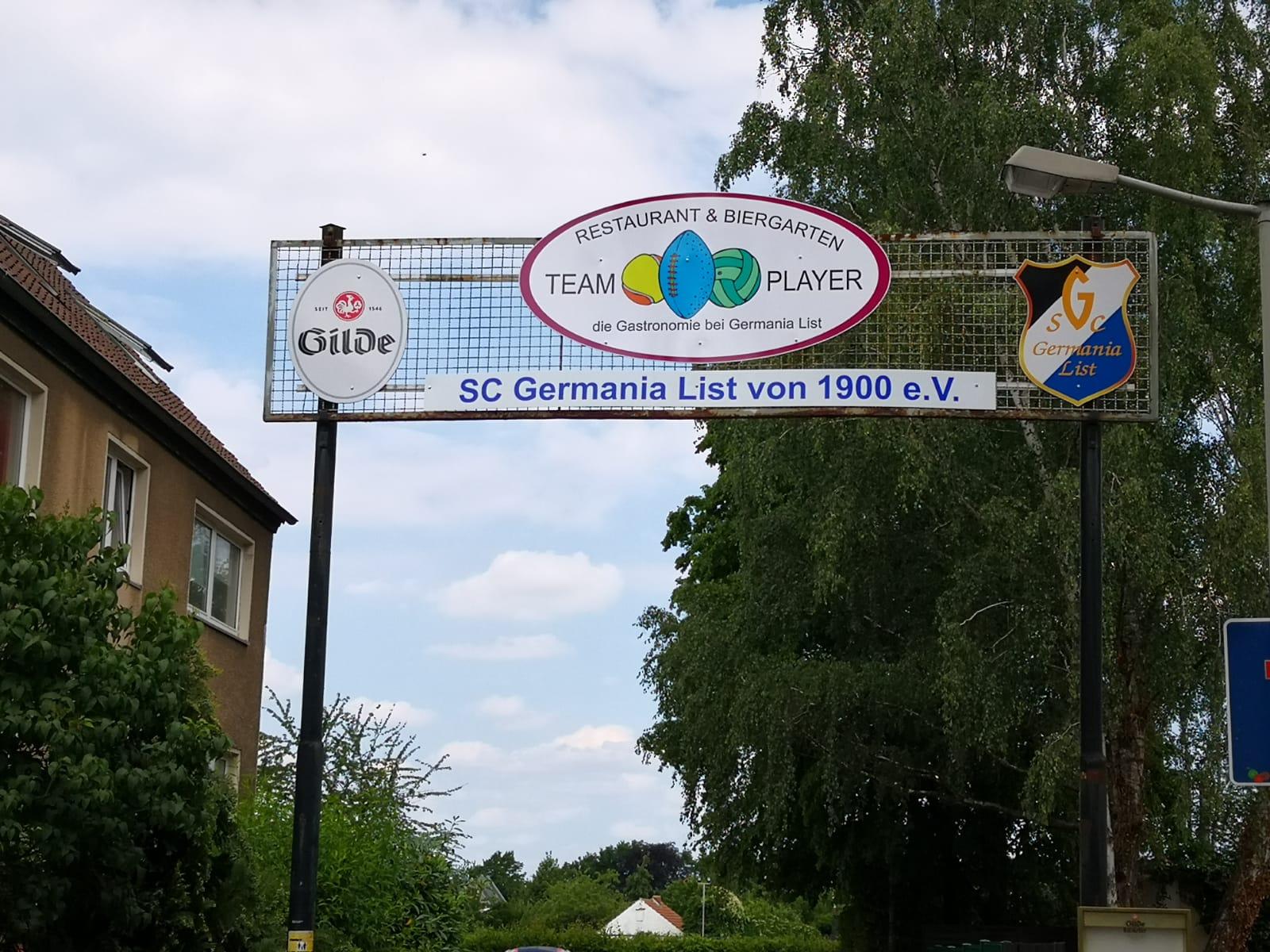 Das Eingangstor von Germania